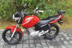 Yamaha 125 YBR new- červená